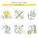 Set of Flat Line Icons for Development, Web Design - GraphicRiver Item for Sale