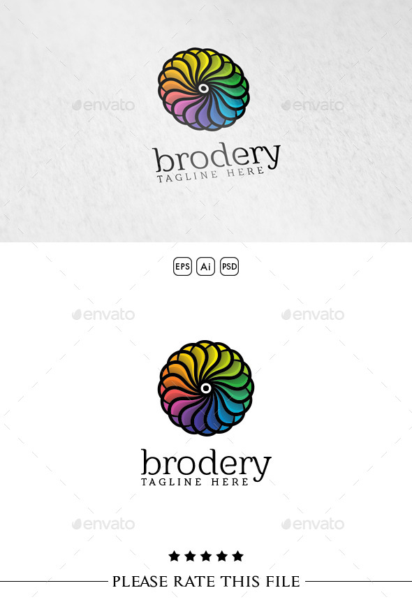 GraphicRiver Rainbow Shape Logo 10737001