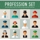 Different People Professions Characters Set - GraphicRiver Item for Sale