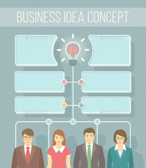 GraphicRiver Business Idea Infographics 10738168