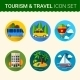 Travel Icon Vector - GraphicRiver Item for Sale