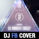 2 Djs Event Party Facebook Timeline Cover Template - GraphicRiver Item for Sale
