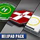 Helipad pack - 3DOcean Item for Sale
