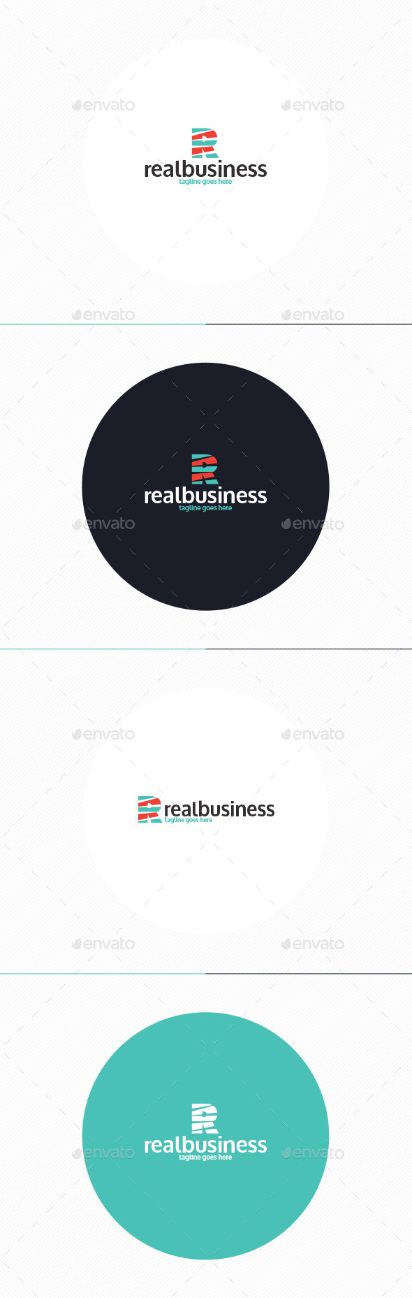 GraphicRiver Real Business Logo Letter R 10738741