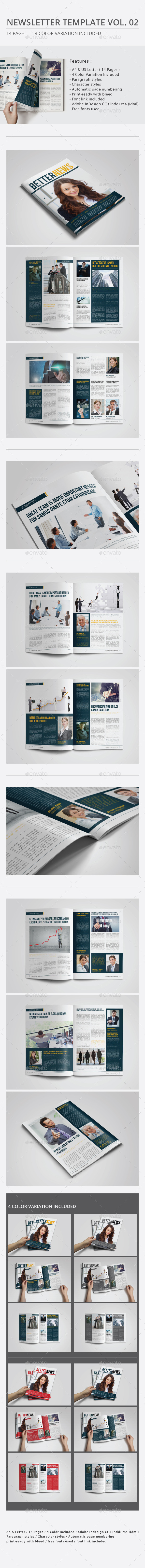 GraphicRiver Newsletter Template Vol.02 10738794