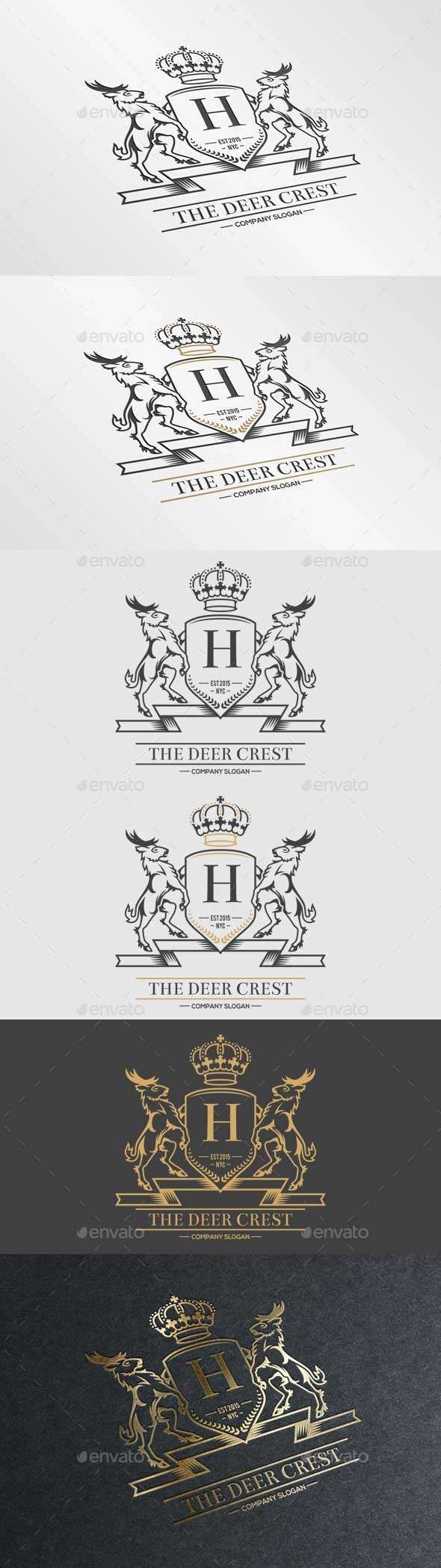 GraphicRiver The Deer Crest 10738931