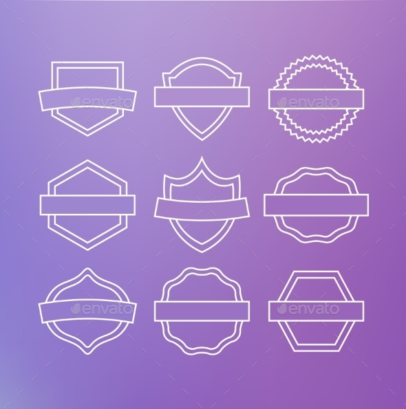 GraphicRiver Linear Emblems 10739079