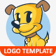 Puppy Vector Logo Template - GraphicRiver Item for Sale
