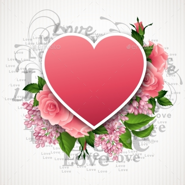 GraphicRiver Valentines Day Heart 10739170