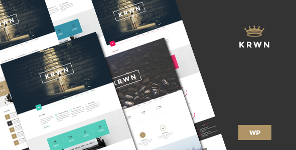 ThemeForest Krown Responsive Buniess WordPress theme 10379452