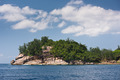 Coastline of Mahe island, Seychelles - PhotoDune Item for Sale