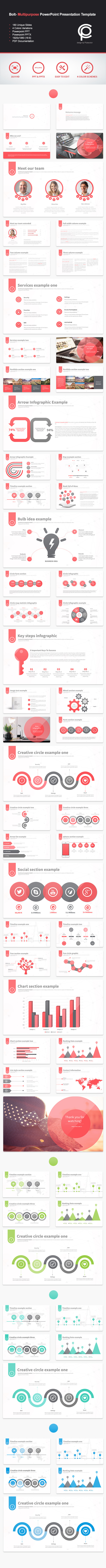 GraphicRiver Bolt Multipurpose PowerPoint Presentation 10740558