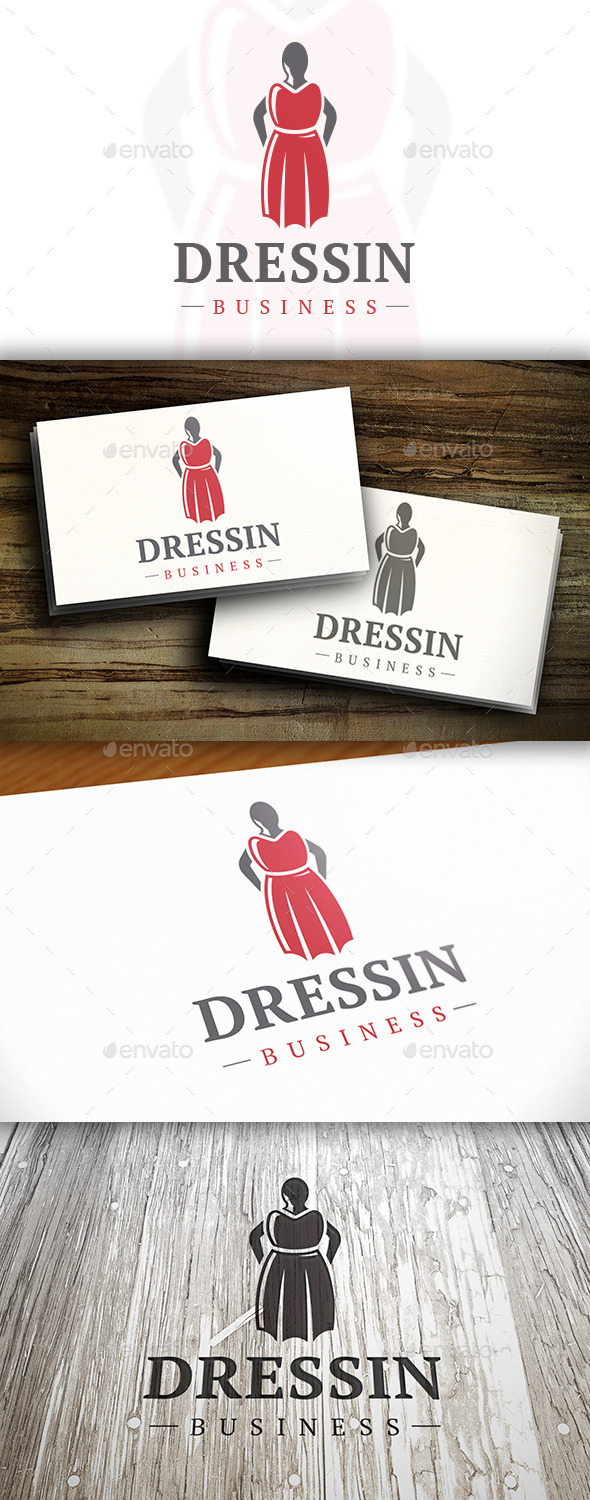 GraphicRiver Fashion Shop Logo 10740765