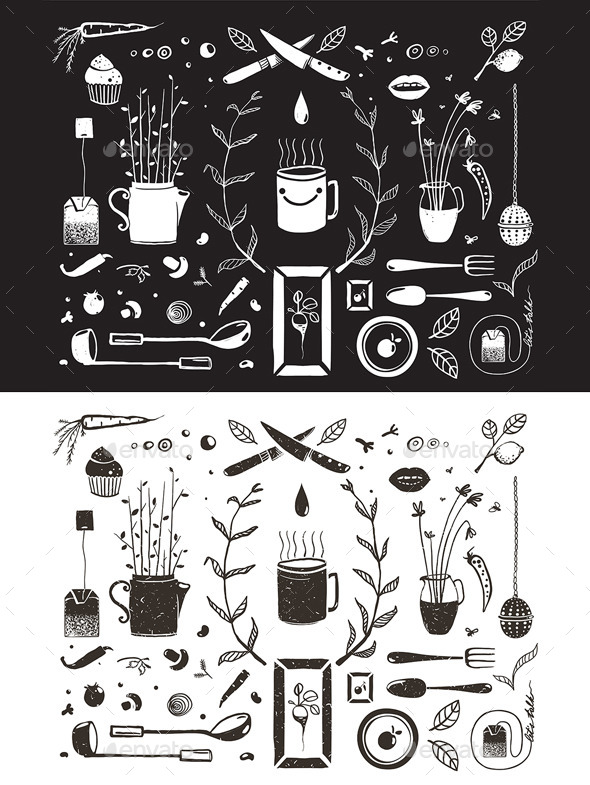 GraphicRiver Kitchen Food and Drinking Tea Cosy Design Elements 10741184