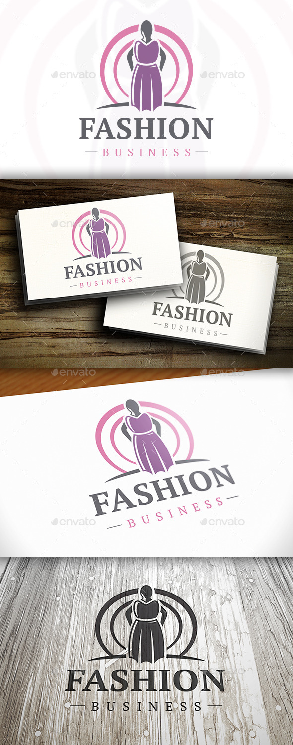 GraphicRiver Fashion Dress Logo 10741296