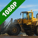 Tractor at Wood Processing Factory - VideoHive Item for Sale