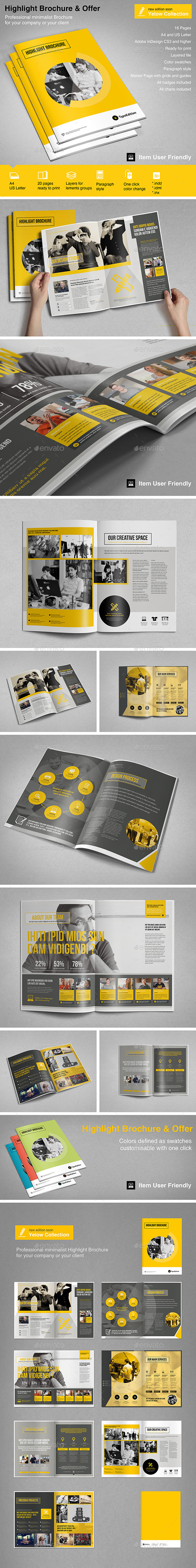 GraphicRiver Highlight Brochure Vol 2 10741462