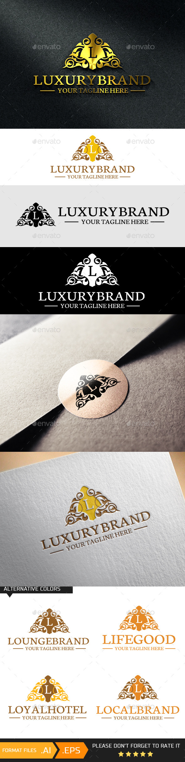 GraphicRiver Letter L Logo Template 10741622