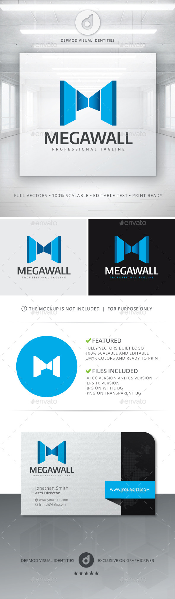 GraphicRiver Mega Wall Logo 10741886
