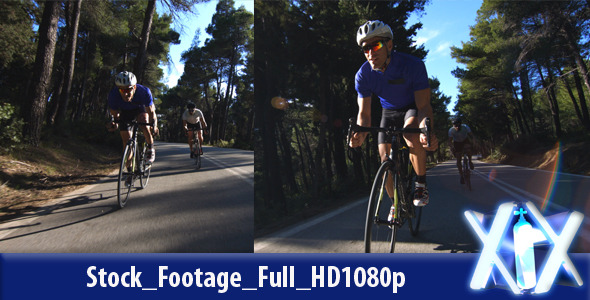 VideoHive Racing Cyclists 10742077
