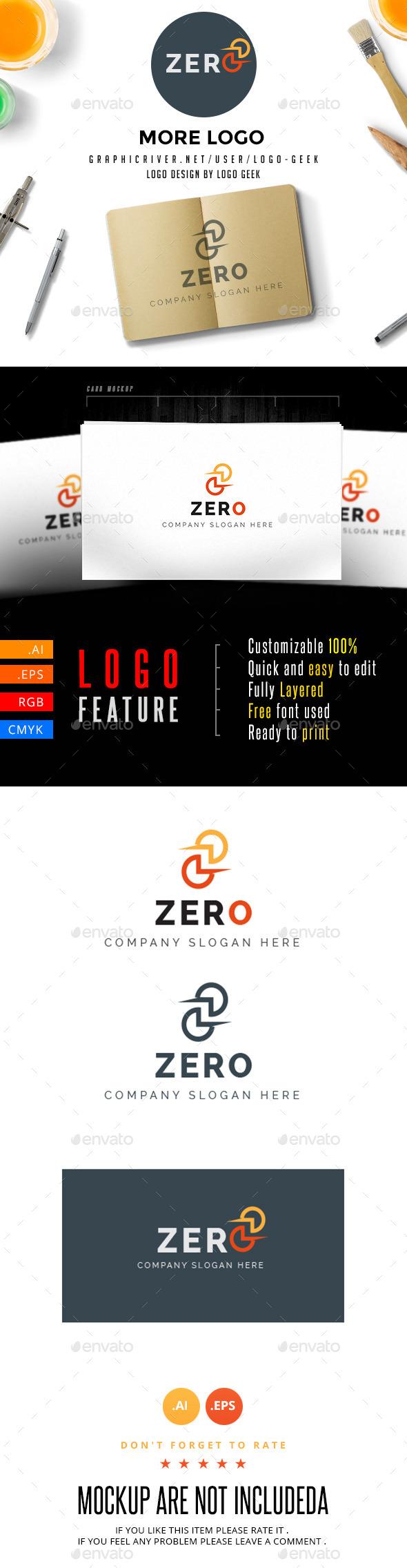 GraphicRiver Zero Logo 10742629