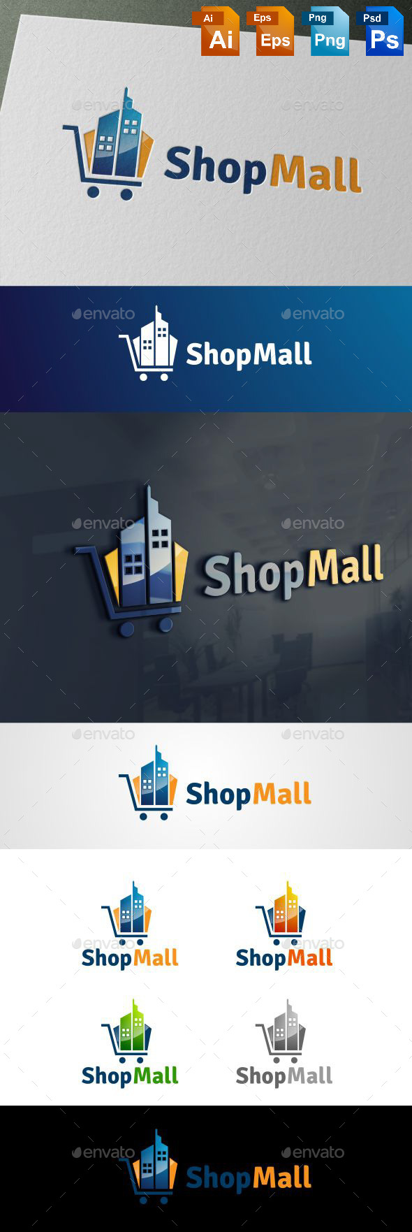 GraphicRiver shop mall 10679727