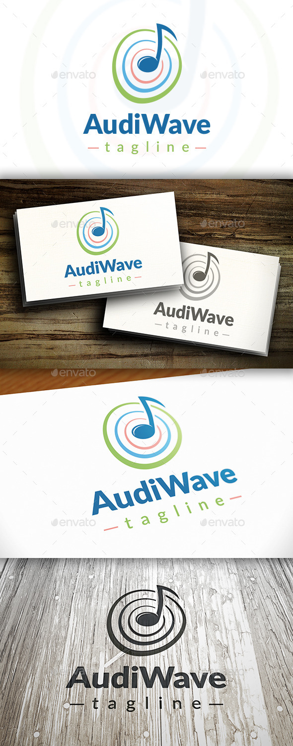 GraphicRiver Music Wave Logo 10746686