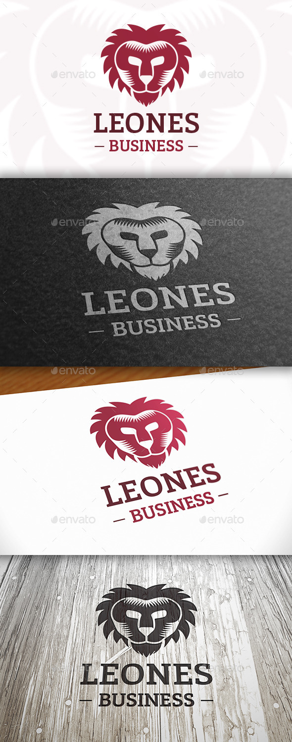GraphicRiver Lion Head Logo 10747530