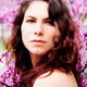 Caucasian Woman Portrait Among Red Bud Blossoms - PhotoDune Item for Sale