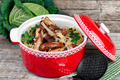 Stewed Cabbage With Pork Ribs And Sausages - PhotoDune Item for Sale