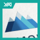Digital Mountain - Triangle Pyramid - GraphicRiver Item for Sale
