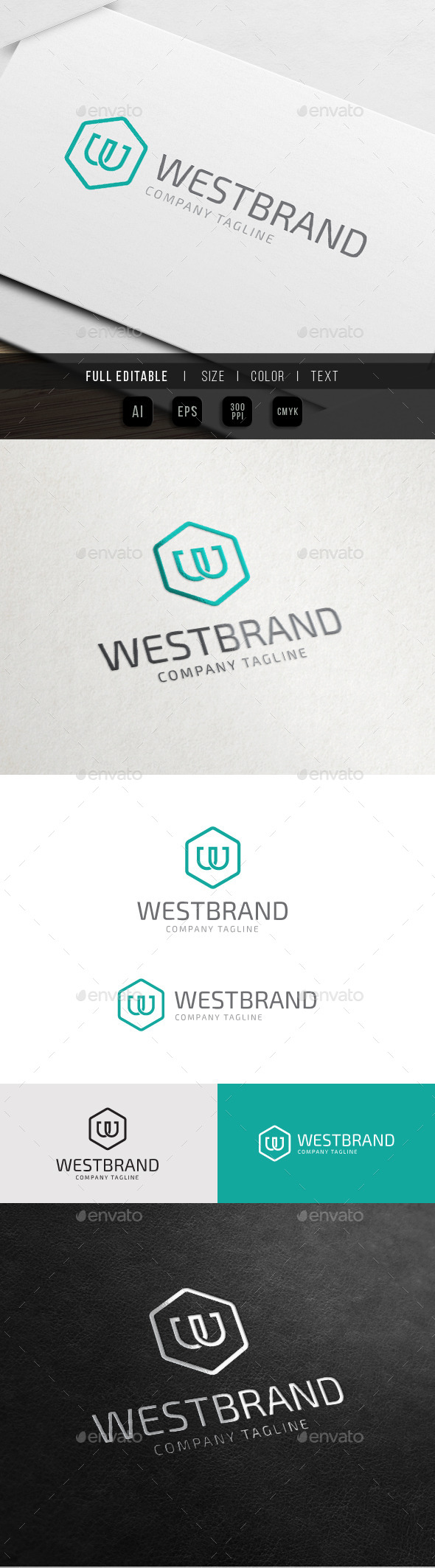 GraphicRiver World Brand Letter W 10748163