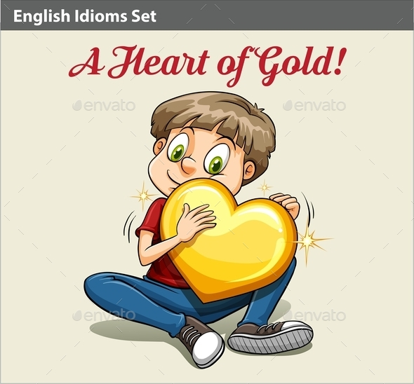 GraphicRiver Boy Holding a Heart 10748233