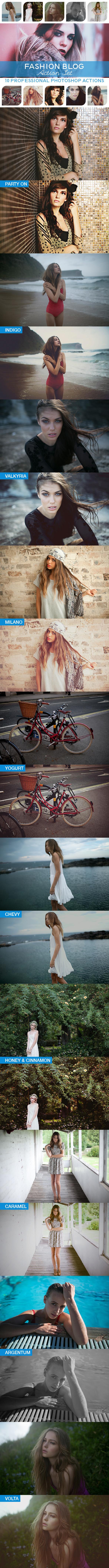GraphicRiver 10 PRO Photoshop Actions Vol.IV 10748306