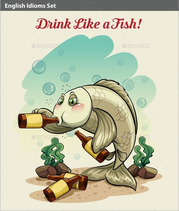 GraphicRiver Drinking like a Fish 10748324