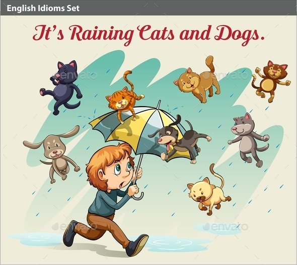 GraphicRiver It s Raining Cats and Dogs 10748328