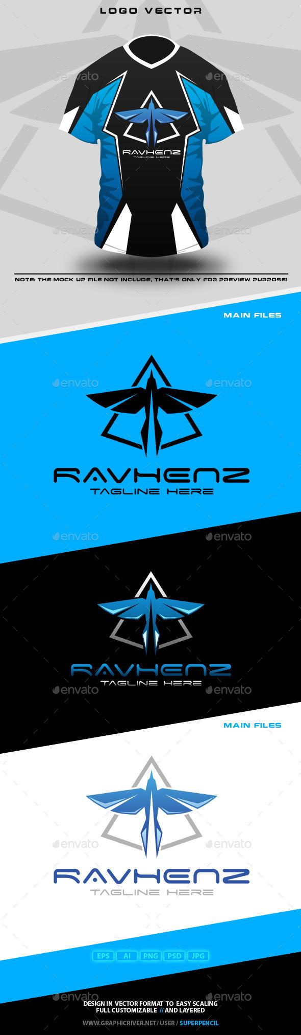 GraphicRiver Ravhenz Logo 10748351