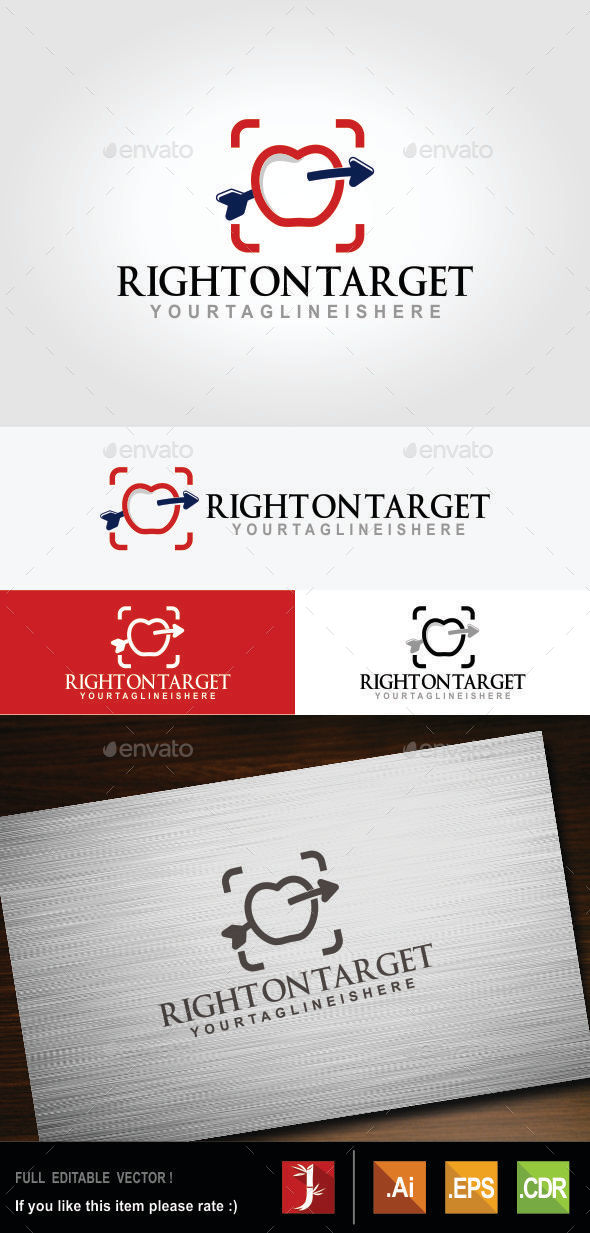 GraphicRiver Right on Target 10748360