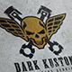 Dark Custom Skull Logo - GraphicRiver Item for Sale