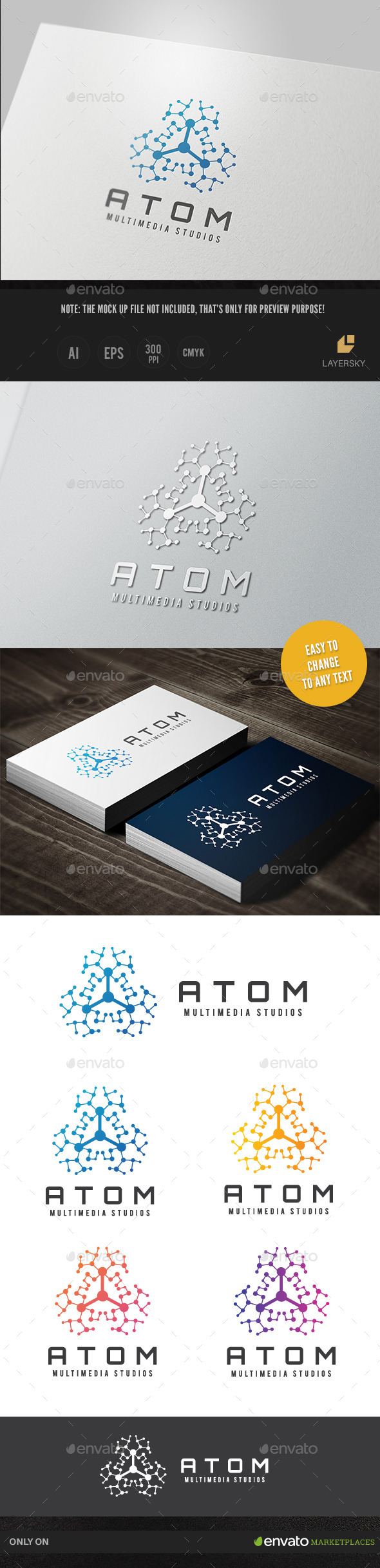 GraphicRiver Atom Media II 10748522