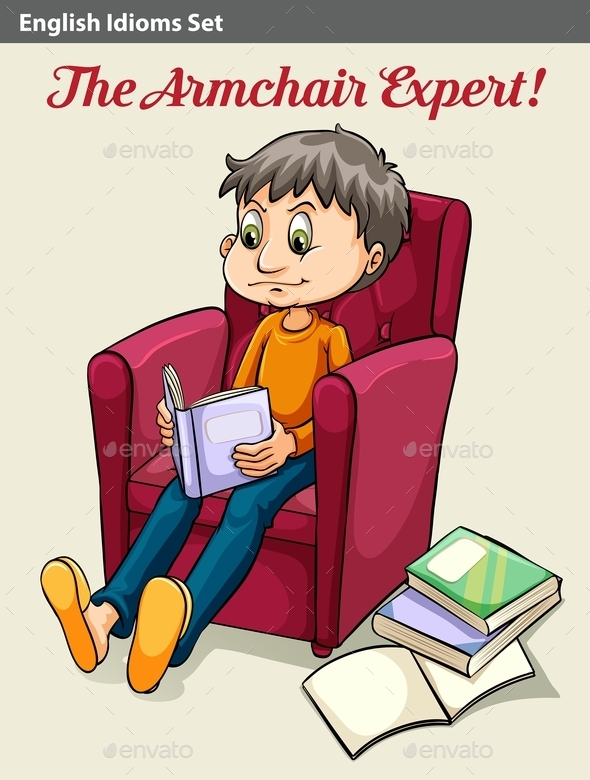 GraphicRiver The Armchair Expert 10748523