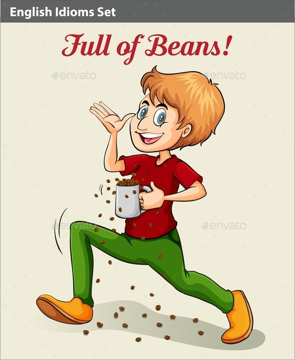 GraphicRiver Man Full of Beans 10748565