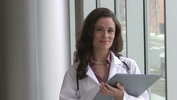 Female Doctor Mid 30's Happy 3 Of 3