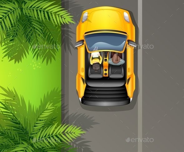 GraphicRiver Vehicle Topview 10748787