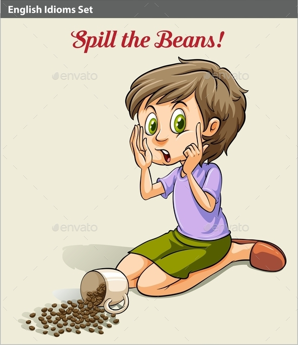 GraphicRiver Spilling the Beans 10748928