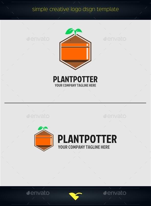 GraphicRiver Plants Logo 10749746