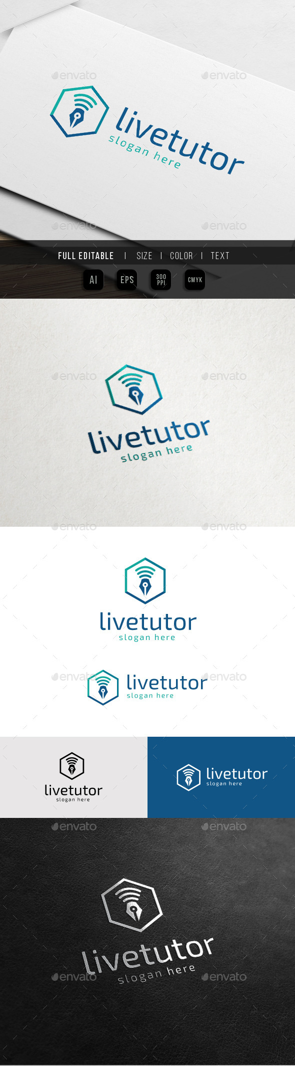 GraphicRiver Live Tutorial Pen On Air 10750307