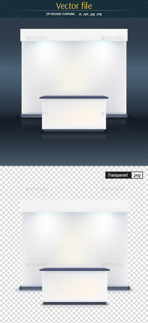GraphicRiver Trade Stand 10750439