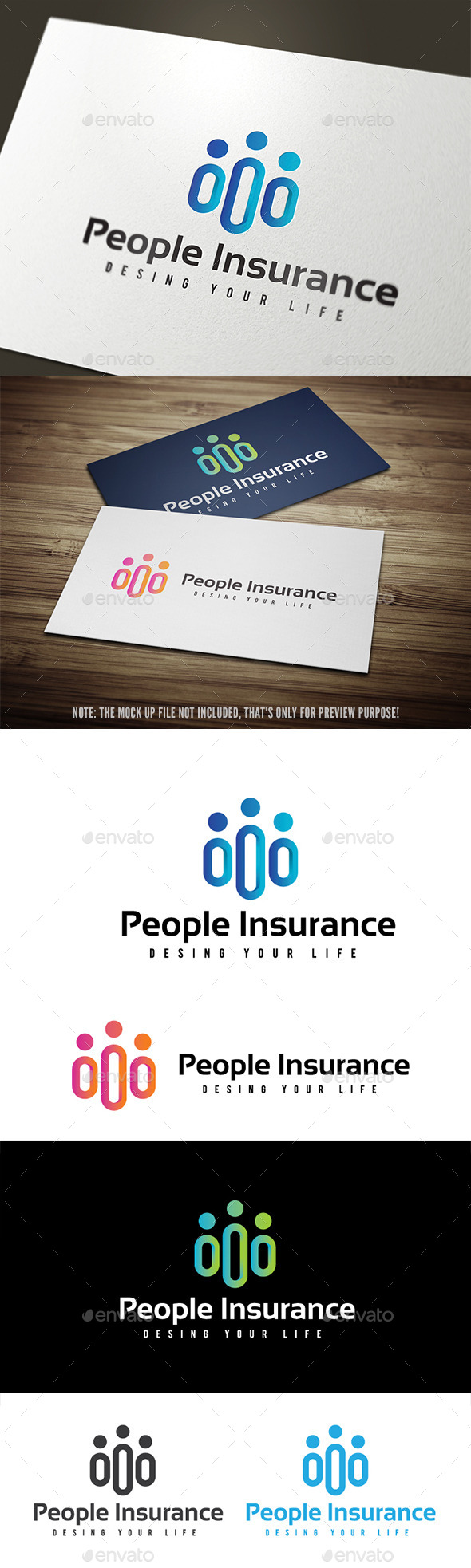 GraphicRiver People Insurance 10750469