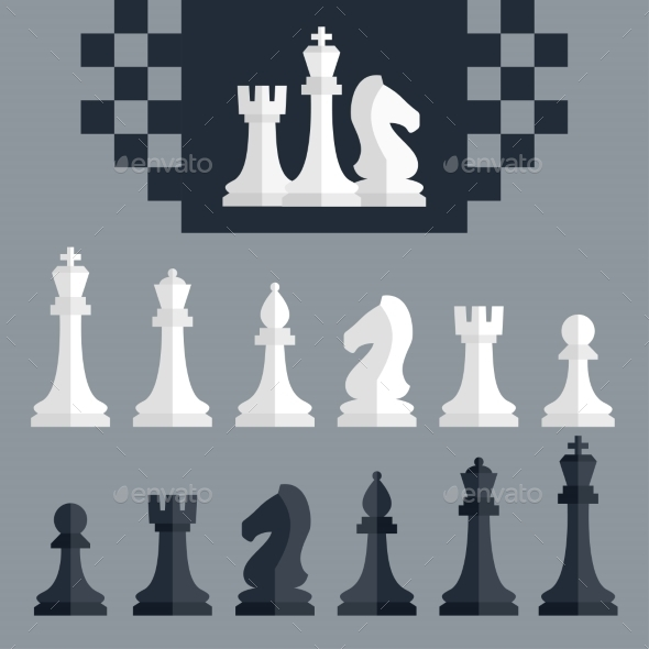 GraphicRiver Chess Pieces 10750620
